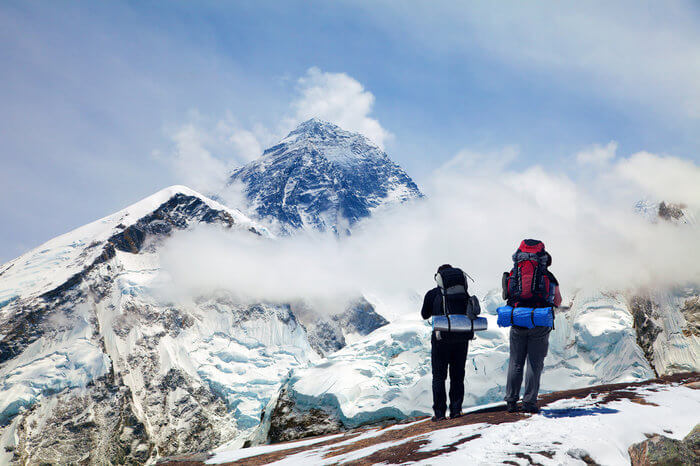 A Journey to Everest Base Camp trek in 2021