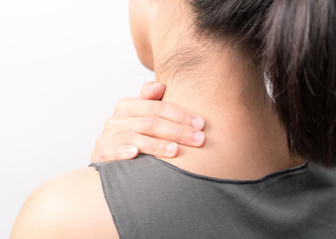 How should I sleep to relieve neck pain?